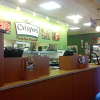 Photo taken at Crispers Fresh Salads, Soups and Sandwiches by Tim C. on 11/24/2012