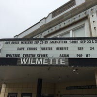 Photo taken at Wilmette Theatre by Bruce C. on 9/24/2016
