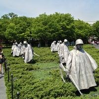 Photo taken at Korean War Veterans Memorial by Jackson R. on 5/10/2013