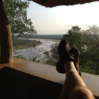 Photo taken at Olifants Rest Camp by Mike F. on 11/28/2012