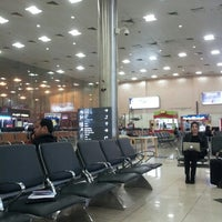 Photo taken at Pune International Airport (PNQ) by Soumya D. on 11/15/2012