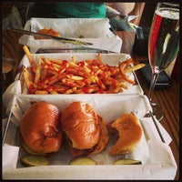Photo taken at Park Burger by Kate on 4/18/2013