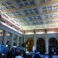 Photo taken at Waterfront Station by Sergey on 5/27/2013