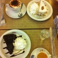Photo taken at Fran's Café by Juliana C. on 7/26/2013
