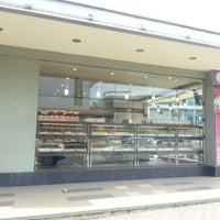 Photo taken at Port View Euro Bakery by Andrew G. on 6/16/2013