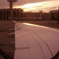 Photo taken at Lufthansa Flight LH 720 by Matthias S. on 10/23/2013