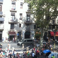 Photo taken at Hostal Mare Nostrum Barcelona by Duygu on 8/18/2014