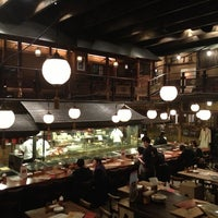 Photo taken at Gonpachi Nishiazabu by Sebastien L. on 2/15/2013