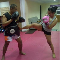 Photo taken at CENTERBASE Muaythai Camp by Irene Y. on 10/8/2012
