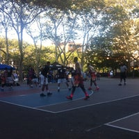 Photo taken at Chrystie St. Courts by Daniel L. on 8/15/2015