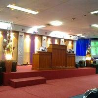 Photo taken at Gereja Tiberias Cawang Kencana by Grace G. on 6/9/2013