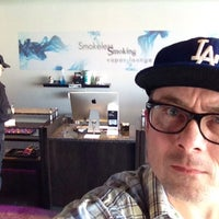 Photo taken at Smokeless Smoking Vapor Lounge by Chris on 1/25/2014