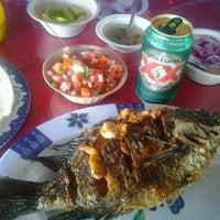 "Photo taken at Palapa ""La Tabasqueña"" by Pedro J. on 11/12/2012"