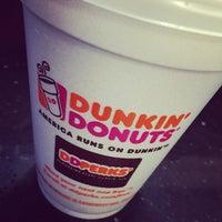 Photo taken at Dunkin' Donuts by Matt L. on 9/29/2014