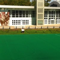 Photo taken at Memorial Field by Evan on 10/5/2012