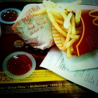 Photo taken at McDonald's / McCafé by matt s. on 12/18/2012