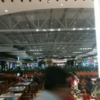 Photo taken at Oakland Mall Food Court by Javier G. on 10/1/2012