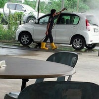Photo taken at Cyber CT Carwash & Cafe by Heart B. on 2/5/2013