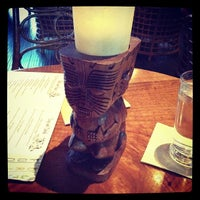Photo taken at Trader Vic's by Brandon L. on 10/1/2012