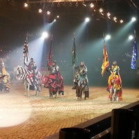 Photo taken at Medieval Times Dinner & Tournament by Tomas F. on 11/22/2012