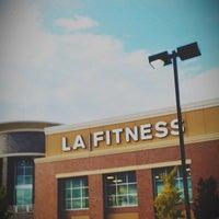 Photo taken at LA Fitness by John on 10/1/2012