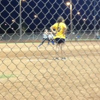 Photo taken at Kiwanis Park Softball Complex by Justine B. on 6/5/2013