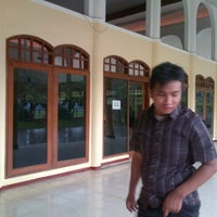 Photo taken at Masjid Al-Maghfirah by Gede A. on 2/2/2013