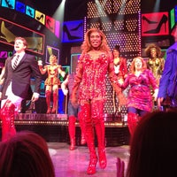 Photo taken at Kinky Boots at the Al Hirschfeld Theatre by Salvador B. on 7/26/2013