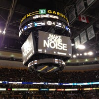 Photo taken at TD Garden by Tim P. on 5/2/2013