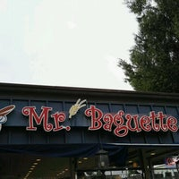 Photo taken at Mr. Baguette by Adrian Y. on 10/30/2016