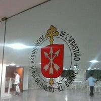 Foto tirada no(a) Arquidiocese do Rio de Janeiro por Thiago A. em 10/23/2012