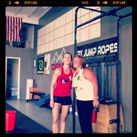 Photo taken at CrossFit Mission Gorge by Jesse M. on 9/29/2012