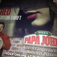 Photo taken at Papa John's Pizza by Mindy C. on 10/24/2012