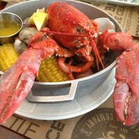 Photo taken at City Crab Shack by Ajc on 6/1/2014