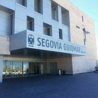 Photo taken at Estación de Segovia-Guiomar by Raquel C. on 9/14/2012