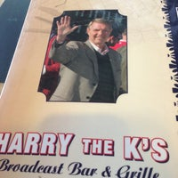 Photo taken at Harry the K's Broadcast Bar & Grille by Maryanne on 4/10/2013