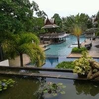 Photo taken at Mukdara Beach Villa And Spa Resort by Jibfy R. on 7/15/2013