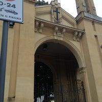 Photo taken at Stadio Ennio Tardini by Andrea on 9/29/2012