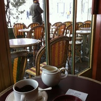 Photo taken at Le Rostand by Margot on 1/20/2013