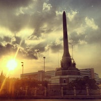 Photo taken at Victory Monument by Jirawan K. on 1/16/2013