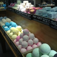 Photo taken at LUSH Fresh Handmade Cosmetics by Paulina on 3/18/2013