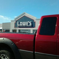 Photo taken at Lowe's Home Improvement by Rich W. on 2/10/2013