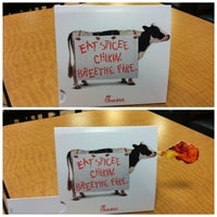 Photo taken at Chick-fil-A by David D. on 1/4/2013