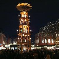 Photo taken at Mainzer Weihnachtsmarkt by Sascha M. on 12/19/2012