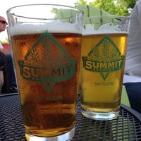 Photo taken at Summit Brewing Company by Teresa on 6/14/2013