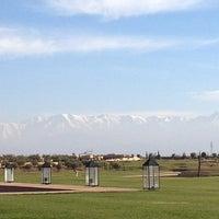 Photo taken at Golf Al Maaden by Lamia on 1/12/2014