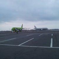 Photo taken at Bolshoye Savino International Airport (PEE) by Евгений on 4/26/2013