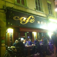 Photo taken at Café 203 by Julie on 5/3/2013