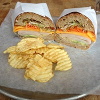 Photo taken at Tiny's Giant Sandwich Shop by Lauren on 11/27/2012