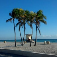 Photo taken at Hollywood Beach Boardwalk by Susie A. on 2/1/2013